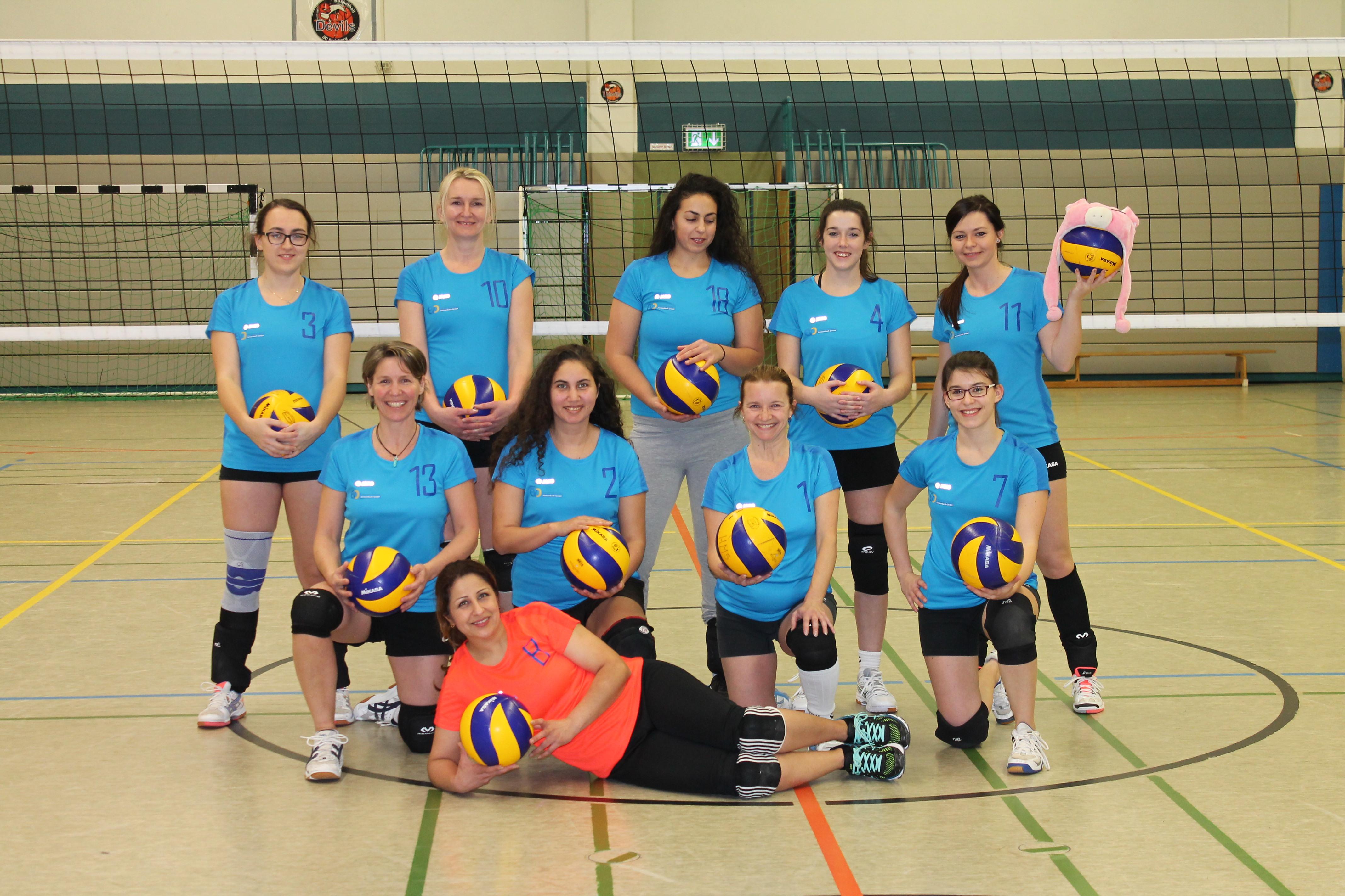 Die Damen-Mannschaft
